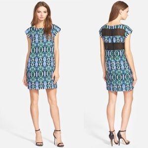 NWT Sam Edelman Illusion Panel Shift Dress
